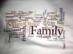 Family Camp Wordle