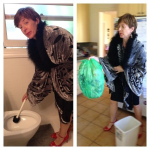Housecleaning a la Diana Ross