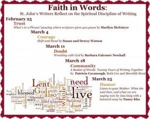 Lent Series St. Johns Episcopal Oakland