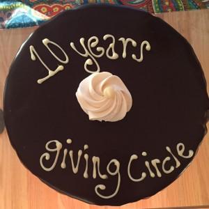 10 years giving circle