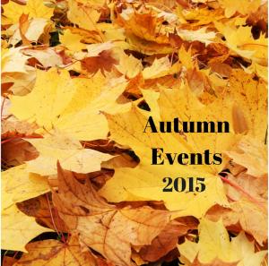 autumn events 2015